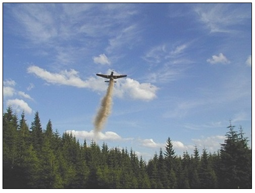praskovaci letadlo