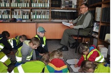 deti v knihovne