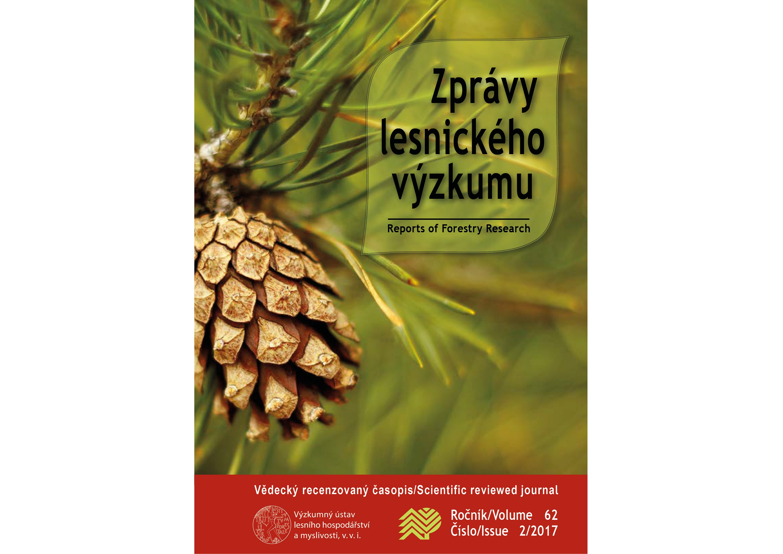 Právě vyšly letní Zprávy lesnického výzkumu