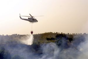 4070001 - extinguishing forest fires